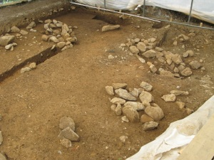bronze age graves, Einigen, Switzerland